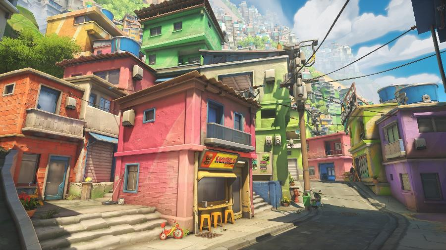 """""""Overwatch 2"""" terá mapa inspirado no Rio de Janeiro - Divulgação"""