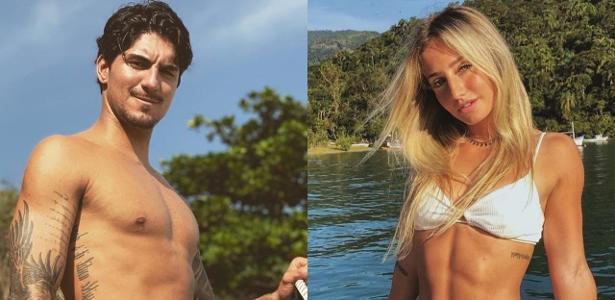 Vistos em aeroporto | Léo Dias: Gabriel Medina e Bruna Griphao estão juntos
