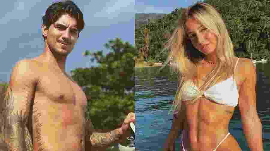 Gabriel Medina e Bruna Griphao - Reprodução/Instagram