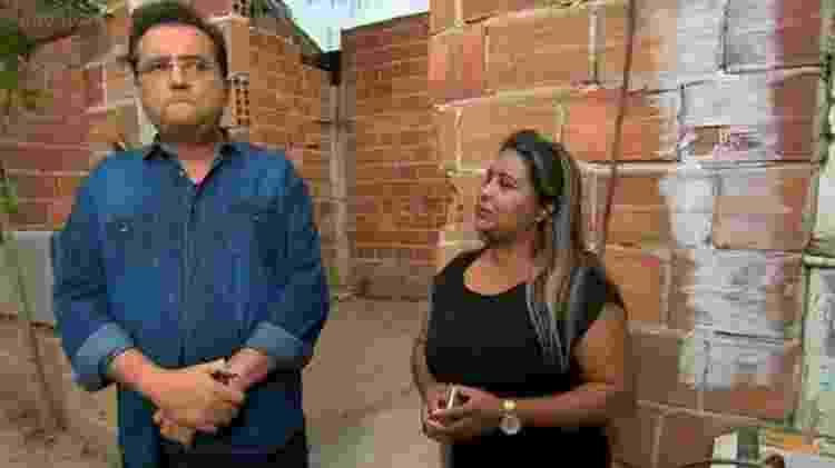 Geraldo Luís e Cida - Reprodução/Record TV
