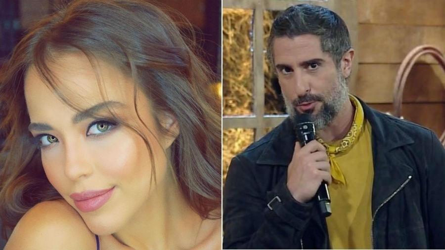 Modelo acusa Marcos Mion de paquerá-la e expõe supostas mensagens do apresentador - Fotomontagem/Reprodução/Instagram