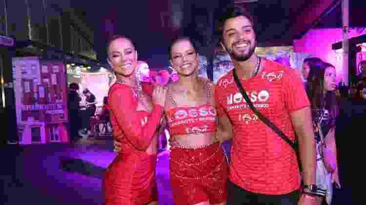 Paolla Oliveira com Agatha Moreira e Rodrigo Simas - Divulgação - Divulgação