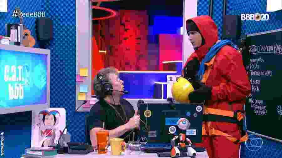 Boninho aparece em VT do BBB20 - Reprodução/TV Globo