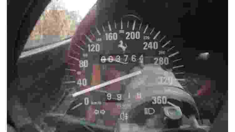 Scott Chivers Caçador de Ferraris F40 Iraque Erbil filho do Saddam Hussein uday hodômetro - Reprodução - Reprodução