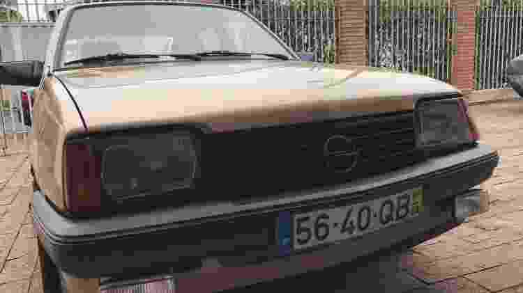 Chevrolet Monza Opel Ascona Portugal português evandro fraga campinas placa europeia - Arquivo pessoal - Arquivo pessoal