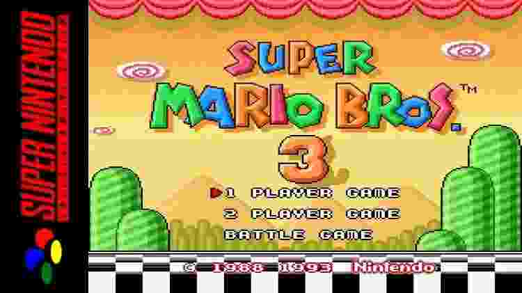 Super Mario Bros 3 Mario All-Stars - Reprodução/YouTube - Reprodução/YouTube