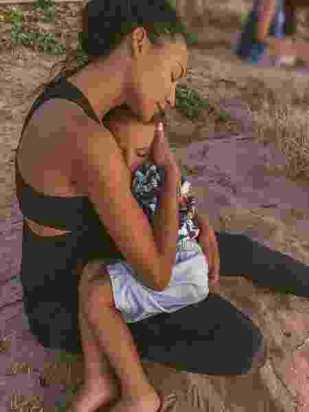 Naya Rivera e o filho  - Reprodução/Instagram