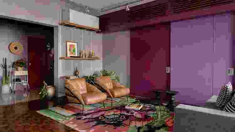 Apartamento de 225 m² vibra com cores e conta histórias da morada a partir da sua decoração - Bia Tabosa/Divulgação - Bia Tabosa/Divulgação