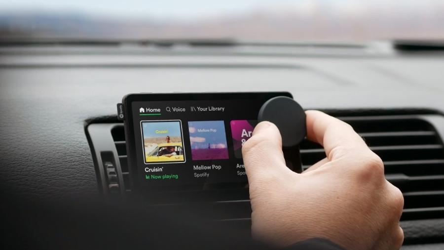 Dispositivo Car Thing do Spotify - Divulgação