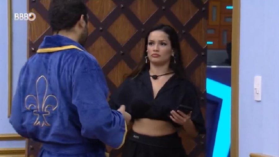 BBB 21: Juliette brinca com Gilberto sobre dormir com Fiuk - Reprodução/Globoplay