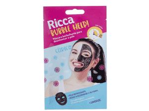 Máscara borbulhante da Ricca - Divulgação - Divulgação