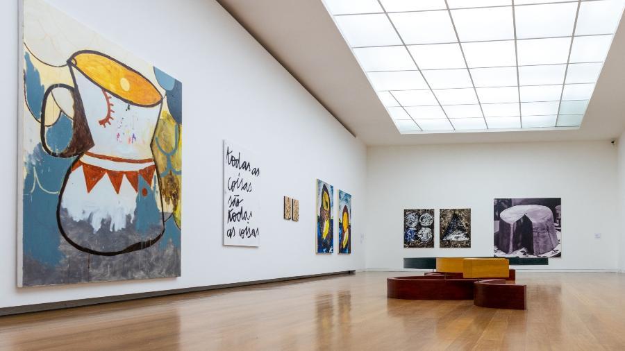 Obras de Sofia Borges e Alejandro Corujeira durante a itinerância da 33ª Bienal de São Paulo - Nilton Santolin / Fundação Bienal de São Paulo