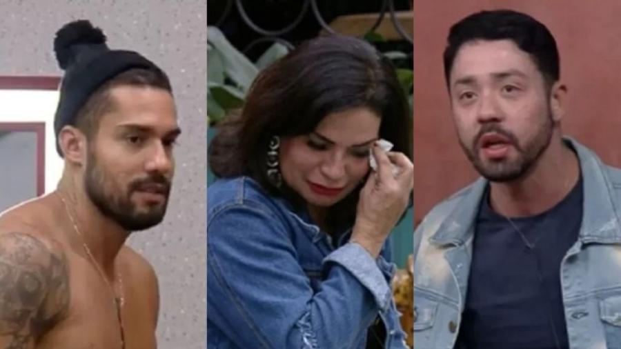 A Fazenda 2021: Madrugada com discussão entre Rico e Solange e desabafo de Bil sobre beleza  - Reprodução/PlayPlus