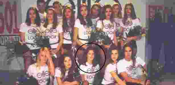 Alessandra Ambrósio, em destaque, tinha apenas 14 anos quando participou do concurso em 1995 - Reprodução/Facebook/Marcelo Salem