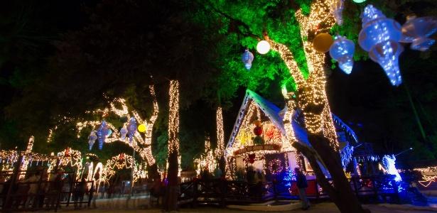 Casa do Papai Noel de São José dos Pinhais tem decoração natalina e está aberta ao público - Divulgação/Roberto Dziura Jr