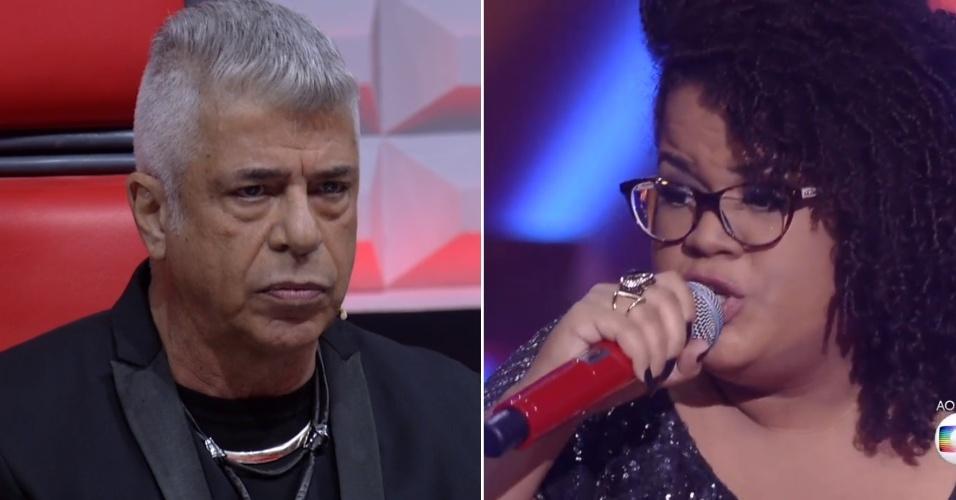 17.dez.2015 - Lulu Santos elimina Joelma Santiago por avaliar que candidata entendeu pouco a música que interpretou
