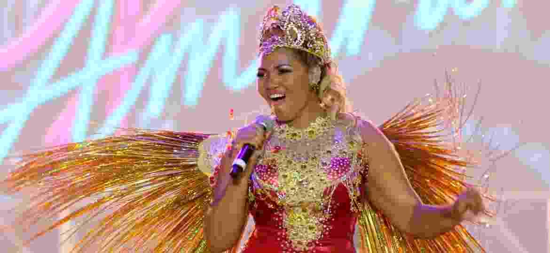 No Carnaval de 2016, Gaby Amarantos se apresentou no palco do Marco Zero no Recife - Aldo Carneiro