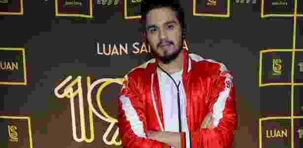 Luan Santana lançou essa semana seu novo DVD, em São Paulo - Francisco Cepeda/AgNews