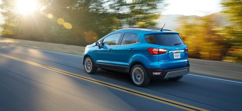 Ford EcoSport nos EUA: principal mudança em relação ao brasileiro está na ausência de estepe pendurado à tampa do porta-malas   - Divulgação