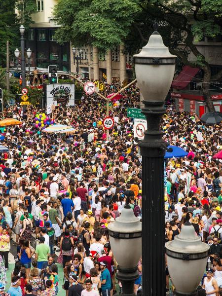Em 2017, Tarado Ni Você arrastou multidão no centro de São Paulo - Eduardo Knapp/Folhapress