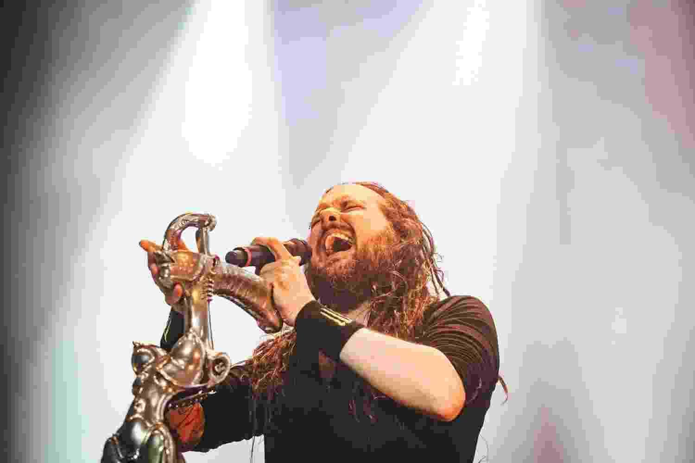 Expoente do new metal, banda americana Korn se apresenta no Espaço das Américas, em São Paulo - Felipe Gabriel/UOL
