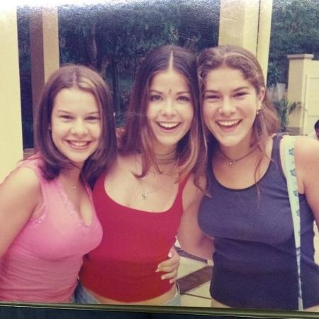 """Samara Felippo recorda da época que trabalhava com Fernanda Souza e Priscila Fantin em  """"Malhação"""" (1999) - Reprodução/Instagram/@sfelippo"""