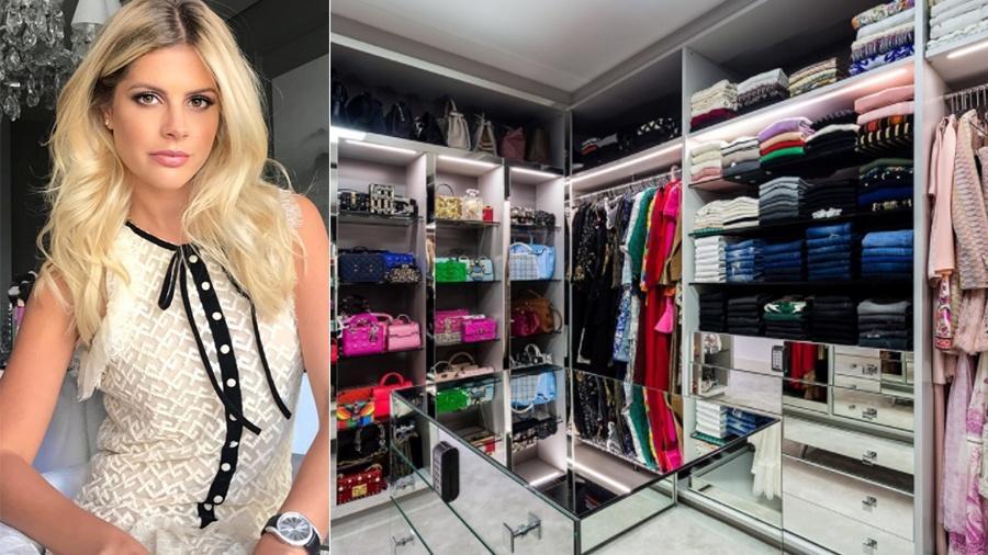 Lala Rudge e seu novo closet - Reprodução/Instagram