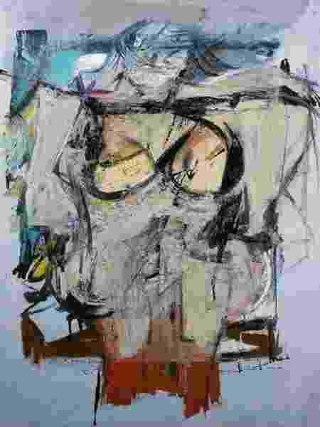 """Woman-Ochre"", de Willem de Kooning - Reprodução"