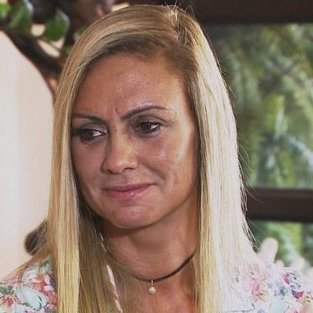 Mulher de Paulo Silvino se emociona ao falar da morte do humorista em agosto - Reprodução/Record
