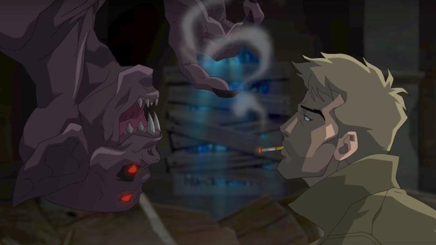 """""""Constantine"""" em versão animada que será lançada em 2018 - Reprodução"""
