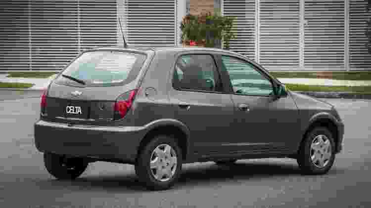 Chevrolet Celta 2014 - Divulgação - Divulgação