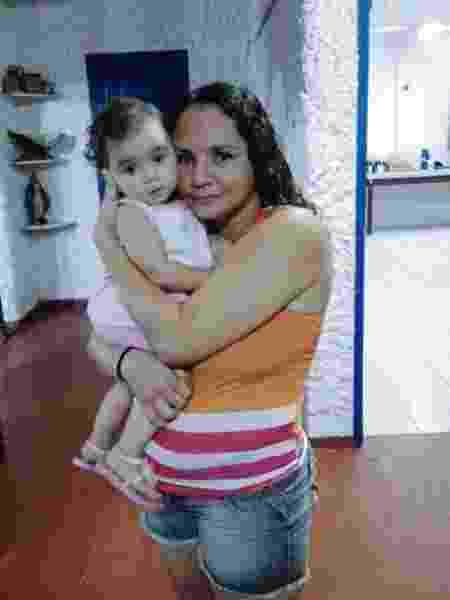 Andréa Maciel, a ex-moradora de rua, ficou seis meses na cadeia - Arquivo Pessoal - Arquivo Pessoal