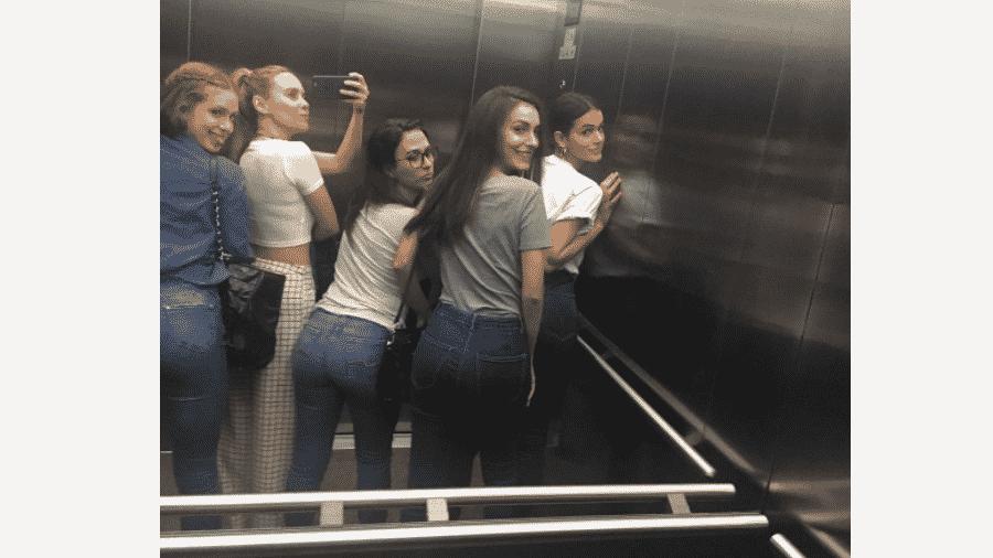 Marina Ruy Barbosa, Fernanda Nobre, Tatá Werneck, Marina Moschen e Bruna Marquezine - Reprodução/Instagram