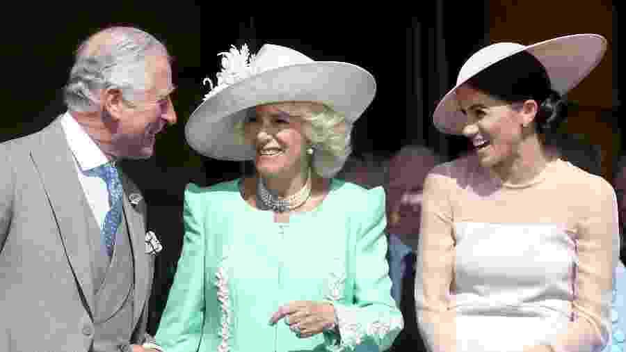 Meghan Markle no aniversário do príncipe Charles - Getty Images