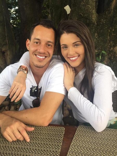 Rodriguinho e Fernanda Batista - Reprodução/Instagram
