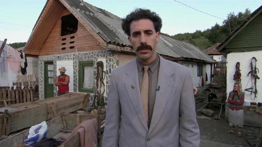 """Cena do filme """"Borat"""", de 2006 - Reprodução"""