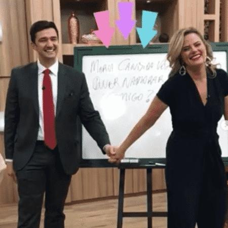 Mauro Calil e Maria Cândida - Reprodução/Instagram