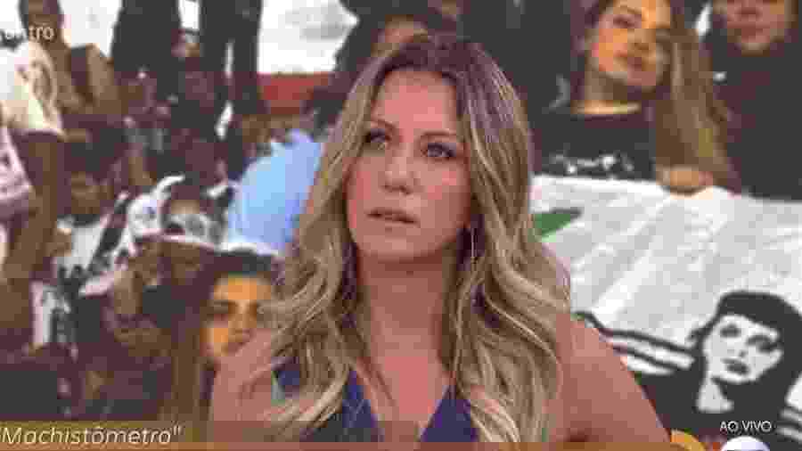 """Bárbara Coelho no """"Encontro"""" - Reprodução/Globo"""