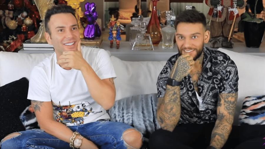 Matheus Mazzafera entrevista Lucas Lucco - Reprodução/YouTube