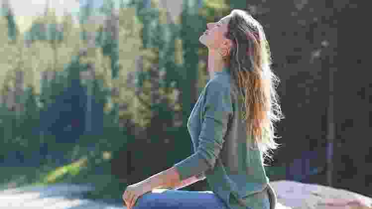 Gisele Meditando - Reprodução/Instagram - Reprodução/Instagram