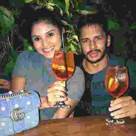 Lucas e Mileide Mihaile jantam juntos - Reprodução/Instagram - Reprodução/Instagram