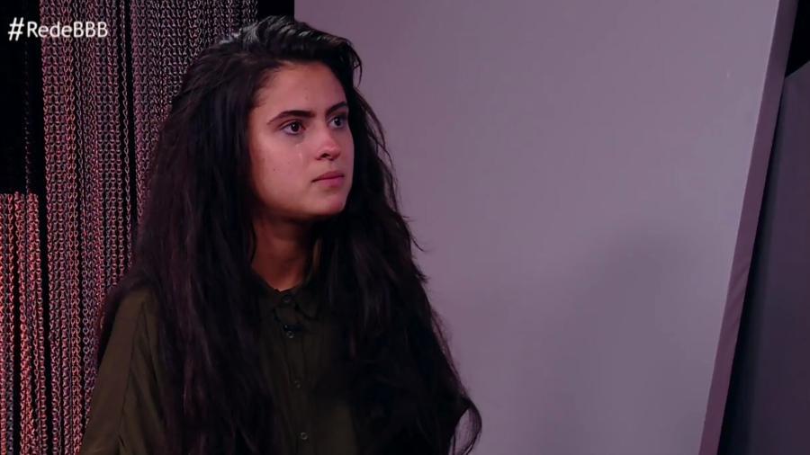 """Hana participa de entrevista após deixar o """"BBB19"""" - Reprodução/GloboPlay"""