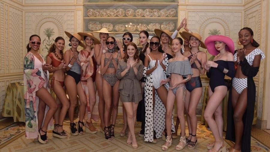 A atriz Jeniffer Oliveira lança marca de beachwear : a JENI.O. - Divulgação/Selmy Yassuda -
