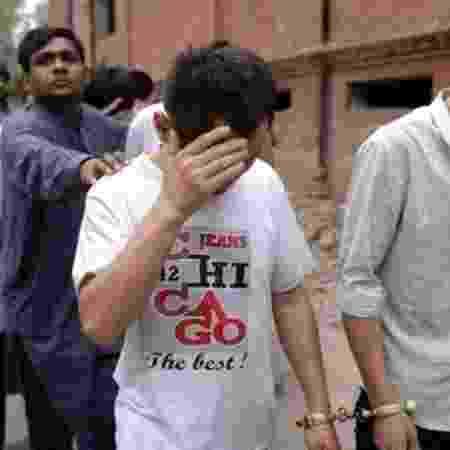 Direito de imagem AFP Image caption. Mais de 20 cidadãos chineses acusados de enganar mulheres paquistaneses foram presos