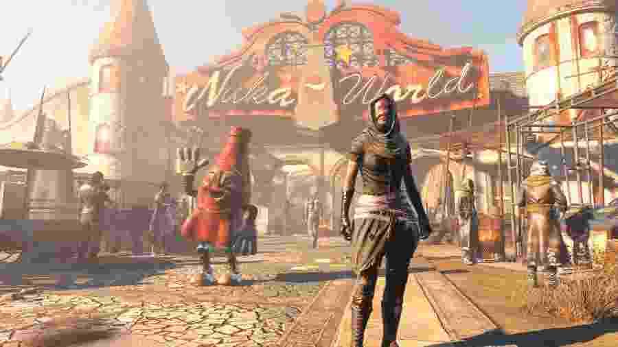 """""""Fallout 4"""" e a tentativa de reconstruir um mundo abalado pela guerra nuclear - Divulgação"""