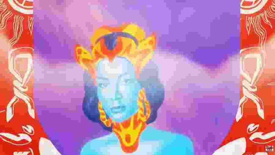 Cena do lyric video Make It Hot de Anitta e Major Lazer - Reprodução