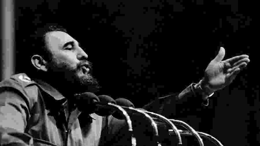 O ditador cubano Fidel Castro -  AFP
