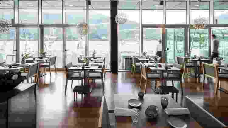 Restaurante DOC, localizado no coração do Douro Vinhateiro - Divulgação/Restaurante DOC