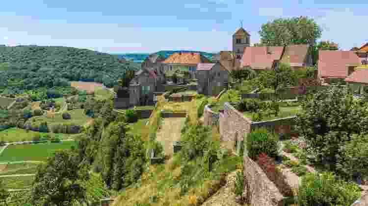 Cidade de Chalon, na região de Franche-Comte (França) - Getty Images - Getty Images