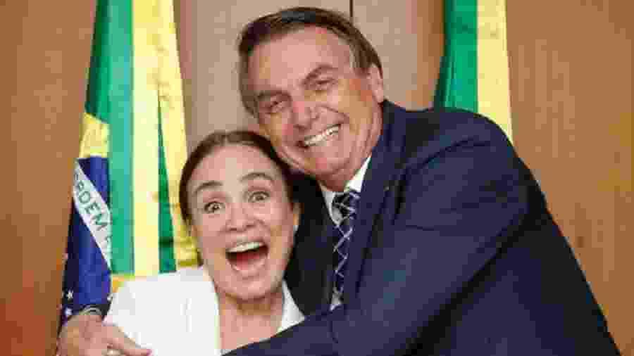 Regina Duarte anunciou ter aceitado convite de Bolsonaro para chefiar secretaria de Cultura - Reprodução/Twitter